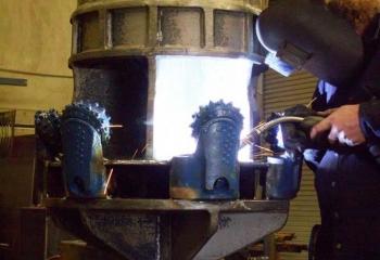 Rock Reamer fabrication