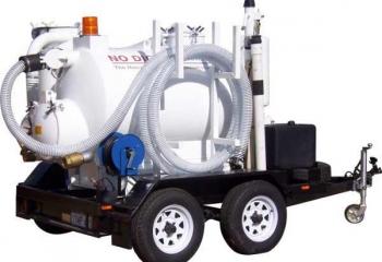 VM750 on trailer