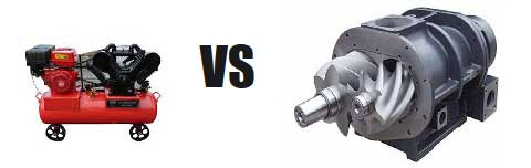 piston vs screw compressors 01