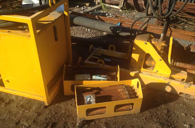 Under Road Bed Borer Machine For Sale No Dig Equipment