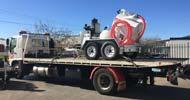 vacuum excavator unit