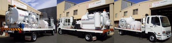Vacuum Truck VM3000 by No Dig Equipment