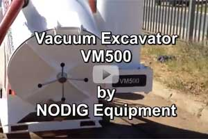 Vacuum trailer VM450 video